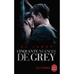 50 nuances de grey (en français) ; El james